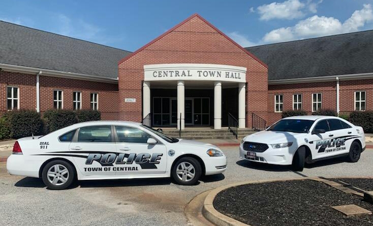 Police Department   Town of Central